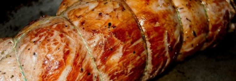 Рулет из телятины «По-гречески»: пошаговый рецепт