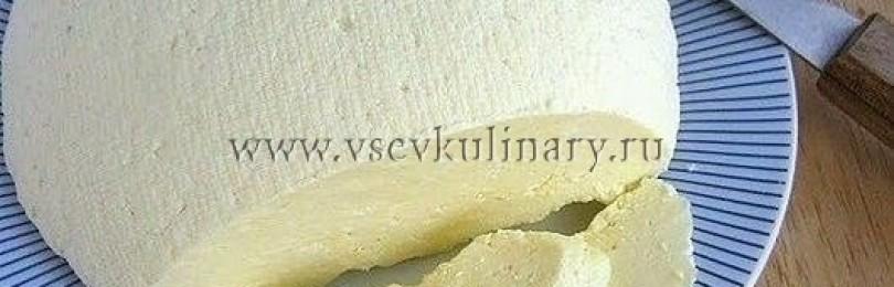 Как сделать сыр в домашних условиях из молока: пошаговый рецепт