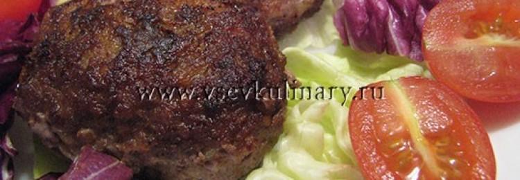 Вкусные домашние котлеты из фарша свинина и говядина