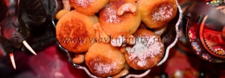 Сладкие шарики по индийскому рецепту (Гулаб-джамун)
