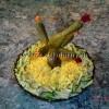 Салат слоеный Кактус