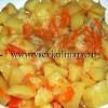Готовим жаркое из курочки и картошки в сковороде