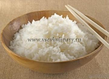 Как правильно сварить рассыпчатый вкусный рис