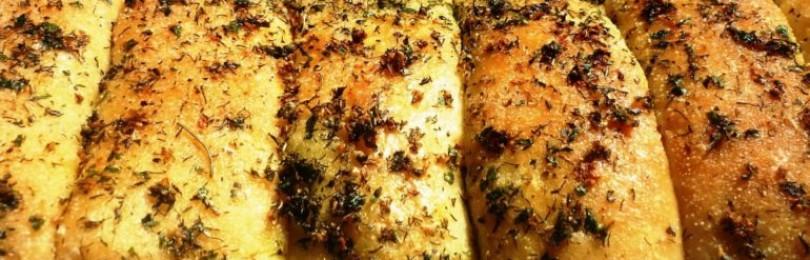 4 простых рецепта приготовления чесночного хлеба
