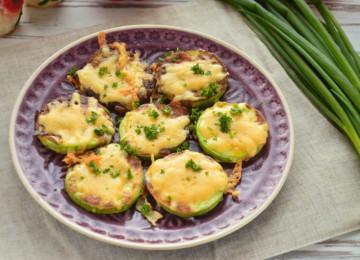 Кабачки в кляре с сыром: пошаговый рецепт с фото
