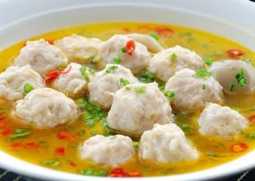 Малокалорийный суп с рыбными фрикадельками: пошаговый рецепт