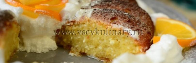 Классический рецепт лимонного кекса