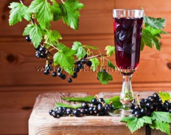 Рецепт наливки из черной смородины на водке
