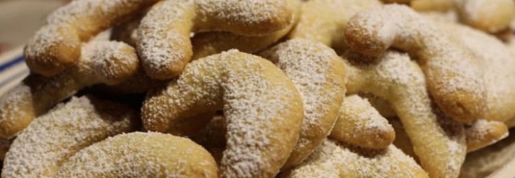 Ванильное печенье Vanille Kipferl: пошаговый рецепт