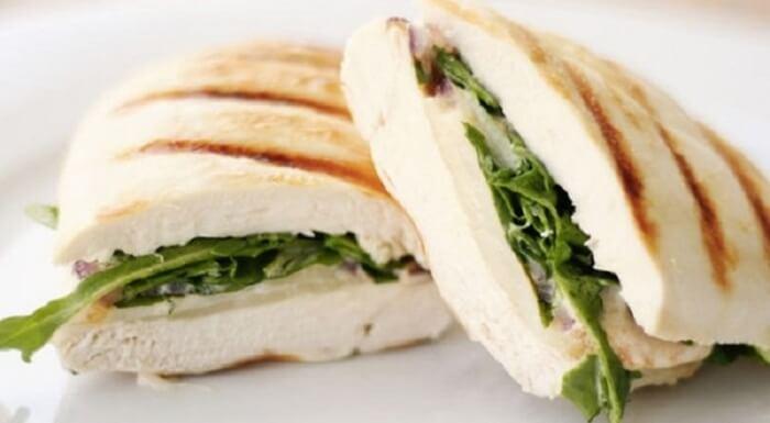 Бутерброды из куриного филе