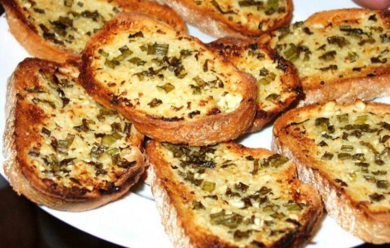 Чесночный хлеб «Вкусняшка»