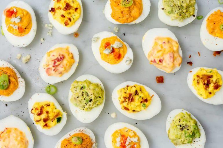 Оригинальные блюда из яиц