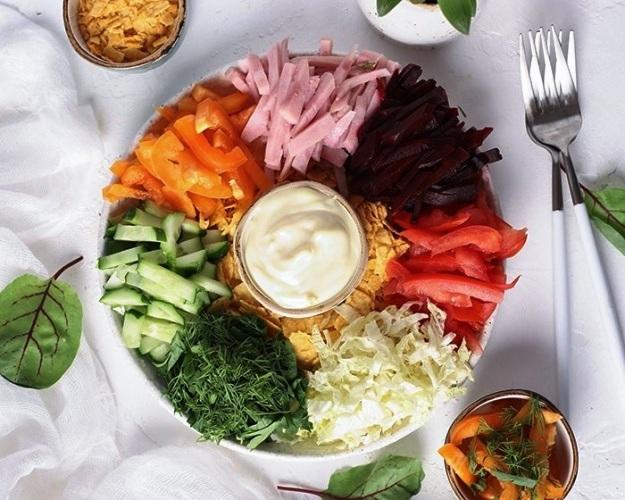 Салат «Вкусный выбор»
