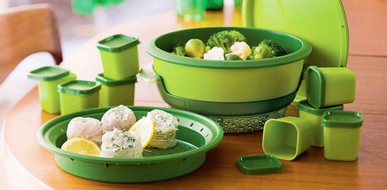 Зеленая посуда