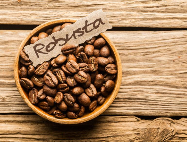 Кофе Робуста в зёрнах