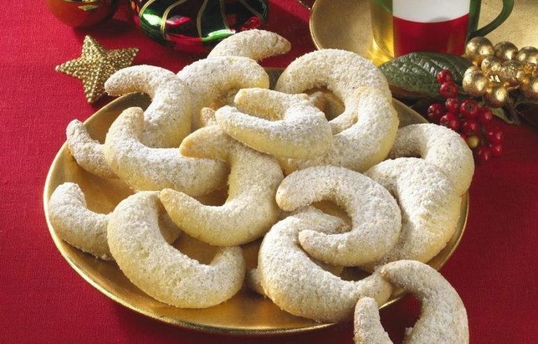 Печенье Vanille Kipferl