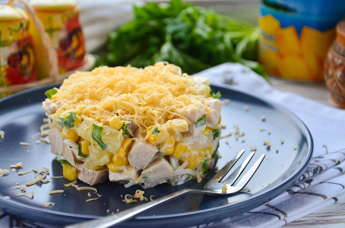 перелетают фото рецепт салата курица с ананасами даже посчитали это