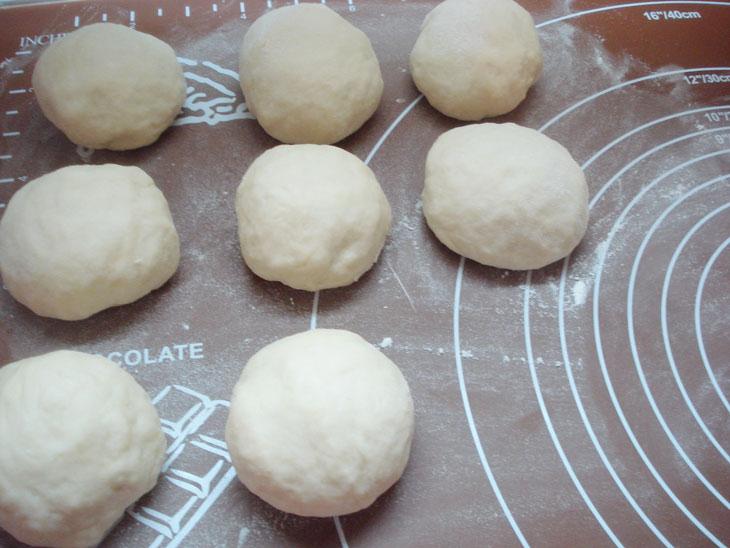 Домашние булочки с творогом - рецепт пошаговый с фото