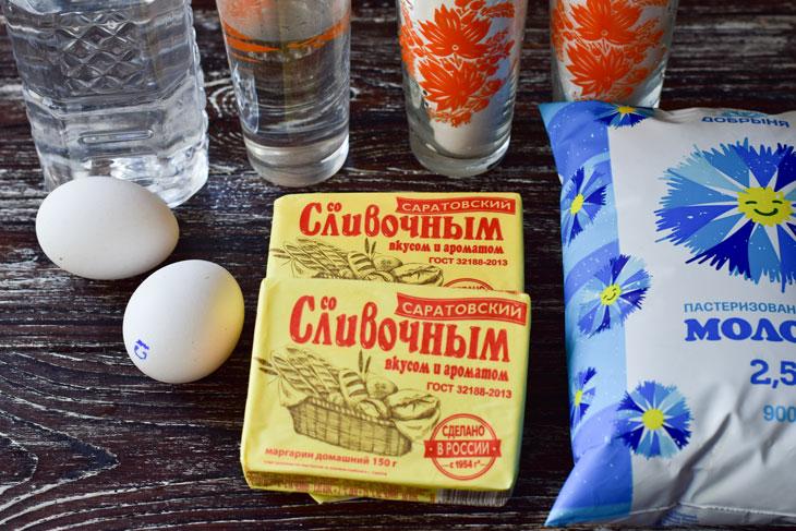 Торт Наполеон с нежным кремом - рецепт пошаговый с фото