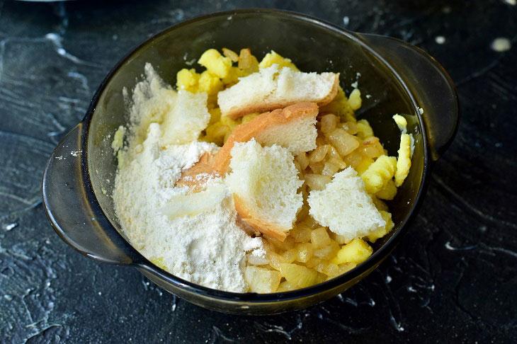 Замороженные зразы как приготовить в духовке