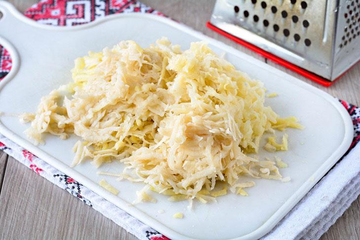 """Традиционная белорусская запеканка """"Мядзведзь"""" из картофеля: рецепт с фото пошагово"""