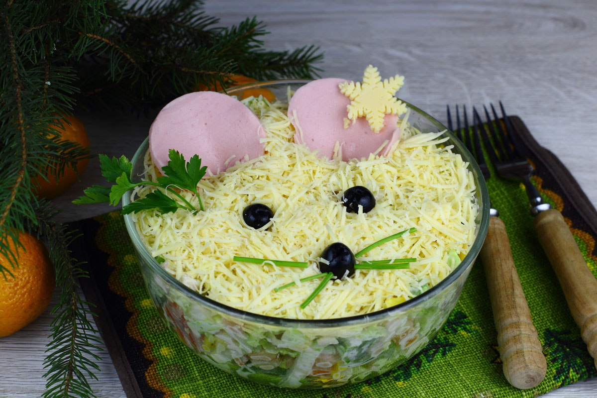 новогодние салаты рецепты с картинками шаблонов категории